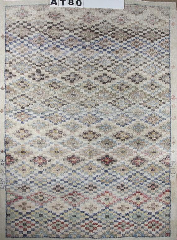 distressed rug